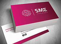 Palm Beach  Business Card Design